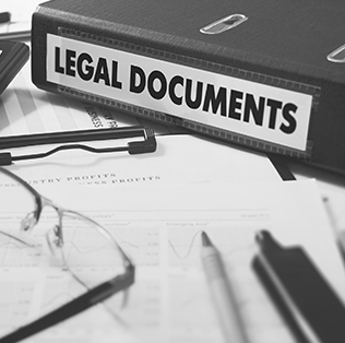 legal documents banner